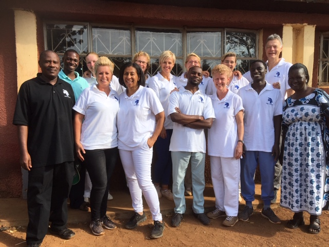stichting hug uganda team